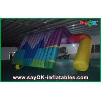 Quality Outdoor Advertising Air Inflatable Tent Printed Logo High Tear Strength for sale