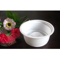 Wholesale 200ml Round Disposable Clear Plastic Dessert Cups , White Yogurt Cups from china suppliers