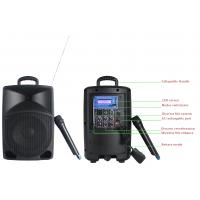 Buy cheap Professional Audio Portable PA Plastic Cabinet Speaker With Wireless Mic from wholesalers