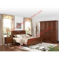 Wholesale English Country Style Solid Wood Bed in Wooden Bedroom Furniture sets from china suppliers