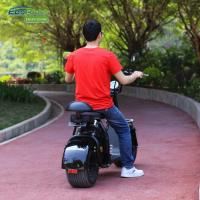 Buy cheap EcoRider Smart Cool 18inch 60v 1500W Harley 2 Wheel Electric Scooter With Seamless Steel Tube Frame and EEC certificate from wholesalers