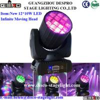 Wholesale 12pcs*10W Moving Head Beam Light RGBW LED Infinite Stage Light from china suppliers