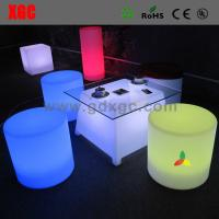 Buy cheap LED coffee table furniture GF316  light furniture plastic Led furniture bar table set Wedding furniture from wholesalers