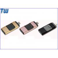 Wholesale 3 IN 1 OTG Function USB 3.0 Flash Memory Drive Double Interface from china suppliers