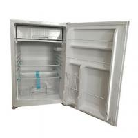 China 198L solar display fridges, charged by panels directly with built-in lithium ion battery on sale