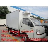 Forland 4*2 LHD mini cold room truck for sale, forland brand LHD refrigerated minibus for ice-cream and frozen food