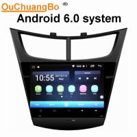 Buy cheap Ouchuangbo car radio touch screen gps nav android 6.0 for Chevrolet Sail 2015 with  gps navi AUX USB 32 GB from wholesalers