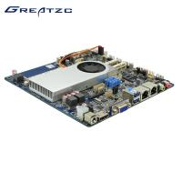 Wholesale I5 Dual LAN Motherboard Mini ITX DC Power I5 5200U CPU For 4K from china suppliers