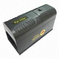 Quality Diamond Head Shaped Solar Mouse Repeller, 500 to 1000Hz Working Frequency for sale