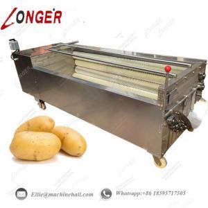 Wholesale Potato Washing Machine|Brush Potato Washing Machine|Vegetable Brush Washing Machine|Potato Washing Machine India|Washer from china suppliers