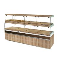 Wholesale High End Glass Bakery Display Cases Non Refrigerated Non Toxic Materials from china suppliers