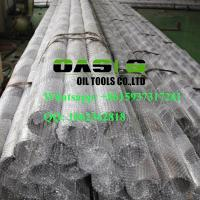 Quality stainless steel Johnson screen pipe/Wire wrapped screen/wedge wire screen pipe for water well drilling for sale