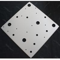 Wholesale Modern Perforated Anti-rust Aluminum Galvanized Steel Ceiling Suspension System  595x595mm from china suppliers