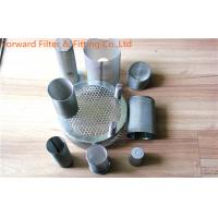 Wholesale Durable SS Wire Mesh Air Filter Screen Tube / Oil system stainless steel filter from china suppliers