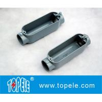 Wholesale Aluminum Die Cast Conduit Body , Threaded C Type With Cover / Outlet Box from china suppliers