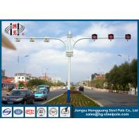 Wholesale Hot Roll Steel Round Tapered Traffic Signal Pole for Pedestrian Crossing from china suppliers