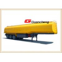 Wholesale 45000 Liter Lpg Oil Tanker Heavy Duty Semi Trailer 3 Axles With Carbon Steel from china suppliers