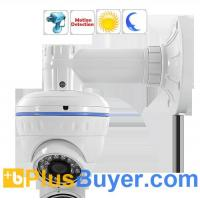 "Wholesale 700 TVL CCTV Dome Camera with Motion Detection - 1/3"" Color Sony Super HAD II CCD from china suppliers"