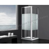 Wholesale Rotating Glass Shower Encloser 1500mm × 1850mm for Steam Room Door Shower Screen from china suppliers