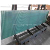 Wholesale Blue Coated Silkscreen Printed Glass For Table Tops , Bulletproof from china suppliers