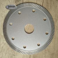 Wholesale 105mm Ceramic Tile Saw Blades , Marble Cutting Disc 1.8mm Segment Thickness from china suppliers