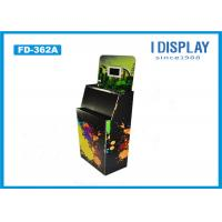Wholesale Black Corrugated Retail Cardboard Pallet Display Stand With Electronic Display from china suppliers