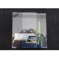 Buy cheap Custom Printed Self Adhesive Plastic Bags Packaging Clear Flap Seal Bags from wholesalers