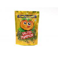 Wholesale Ziplock Bottom Gusset Salted Pumpkin Snack Reclosable Bags Standing Pouch from china suppliers