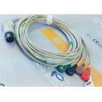 Wholesale M&B 6 Pin Snap AHA ECG Patient Cable For Medical Equipment , Electrode Lead Wires from china suppliers