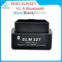 Wholesale Black V1.5 Super Bluetooth ELM 327 optional Version 1.5 elm327 interface supports Torque Car Code from china suppliers