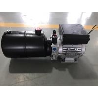 Quality AC380V 0.75KW motor 2.1cc/r gear pump with 6L steel tank Hydraulic Power Unit for Dock Leveler for sale