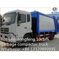 Wholesale dongfeng tianjin 10cbm-12cbm garbage compactor truck for sale, refuse garbage truck from china suppliers