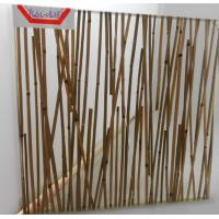 Wholesale Mini Bamboo Tempered Laminated Glass Partition Walls For Home , Unique Design from china suppliers