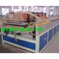 Quality Door Panel WPC Extrusion Line For Indoor Plate Decoration for sale