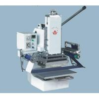 Wholesale Portable Hot Stamping Machine 210x150mm For Gold Or Silver Foil Stamping , Manual Or Peumatic Powered from china suppliers