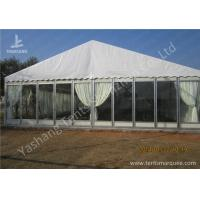 Wholesale Transparent Glass Wall Outdoor Luxury Wedding Tents With Full Beautiful Decorations from china suppliers