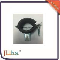 OEM 20mm M8 DC01 Cast Iron Pipe Clamps With EPDM Rubber ISO9001