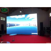Quality P6 P10 SMD(3 In 1) stage led screen die cast aluminum cabinet 3 years warranty for sale