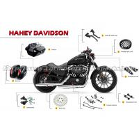 Buy cheap Oem CNC Aluminum Stainless Steel Polished Harley Harley Davidson Motorcycle Accessories from wholesalers
