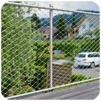 Buy cheap Stainless Steel Ferrule Wire Rope Mesh from wholesalers