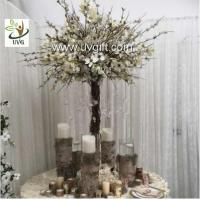 Wholesale UVG Decorative Centerpieces Table Wedding Blossom Trees White Artificial magnolia flower from china suppliers