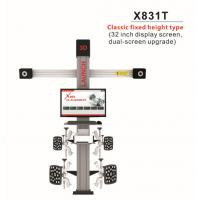 Wholesale Original LAUNCH X831T 3D 4-Post Car Alignment Lifts Platform Classic Fixed Height Type 32inch Display Screen Dual-Screen from china suppliers