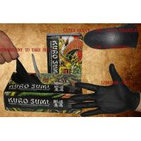 Buy cheap Black Latex Gloves Tattoo Medical Supplies Full Flexibility No Smell And Sweat from wholesalers