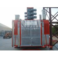 Wholesale Counterweight 6000 LBS Double Cage Inverter Construction Hoist Elevator(S6000-N / DC) from china suppliers