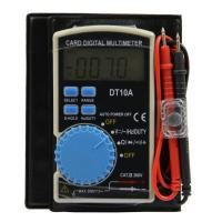 Wholesale DT10A Ultra-Thin Design Card Digital Multimeter from china suppliers