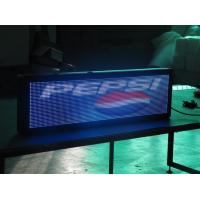 Wholesale 16Mm 4000 Nits Led Traffic Display , Programmable Led Scrolling Message Sign from china suppliers