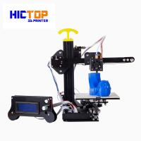 Wholesale Portable home desktop 3d printer printing size 130*150*100mm , 0.4mm Nozzle from china suppliers