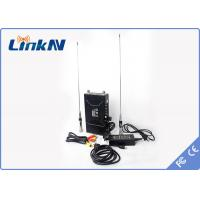 Wholesale LinkAV C322 Manpack Cofdm Long Range Video Transmitter With Two Way Voice Intercom AES128 Encryption from china suppliers