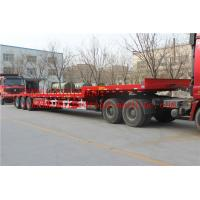 Wholesale 2 A X LES EQUIPMENT LOW BED TRAILER  28T Single speed 25TON/35TONS carry  construction machine from china suppliers
