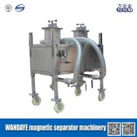 Wholesale Permanent High Gradient Double Cavity Stainless steel Magnetic Separator Machine from china suppliers